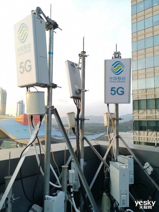 中国移动首批5G基站订单出炉:华为份额第一,5G基站达250站