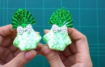 用彩带做手工的方法,如何折叠可爱的玩具包
