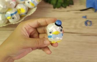 手工玩具作品,迷你玩具礼帽的制作方法
