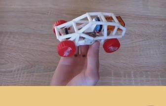 舊物改造的技巧,如何制作玩具車