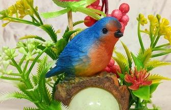 創意手工DIY,如何制作漂亮的小鳥