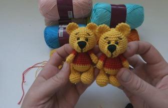 钩针编织教程,可爱的小熊玩偶