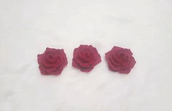 毛线编织教程,如何用毛线钩织玫瑰花