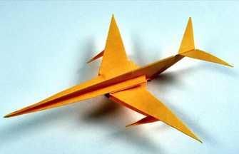 怎么用一張紙折出噴氣式戰斗機