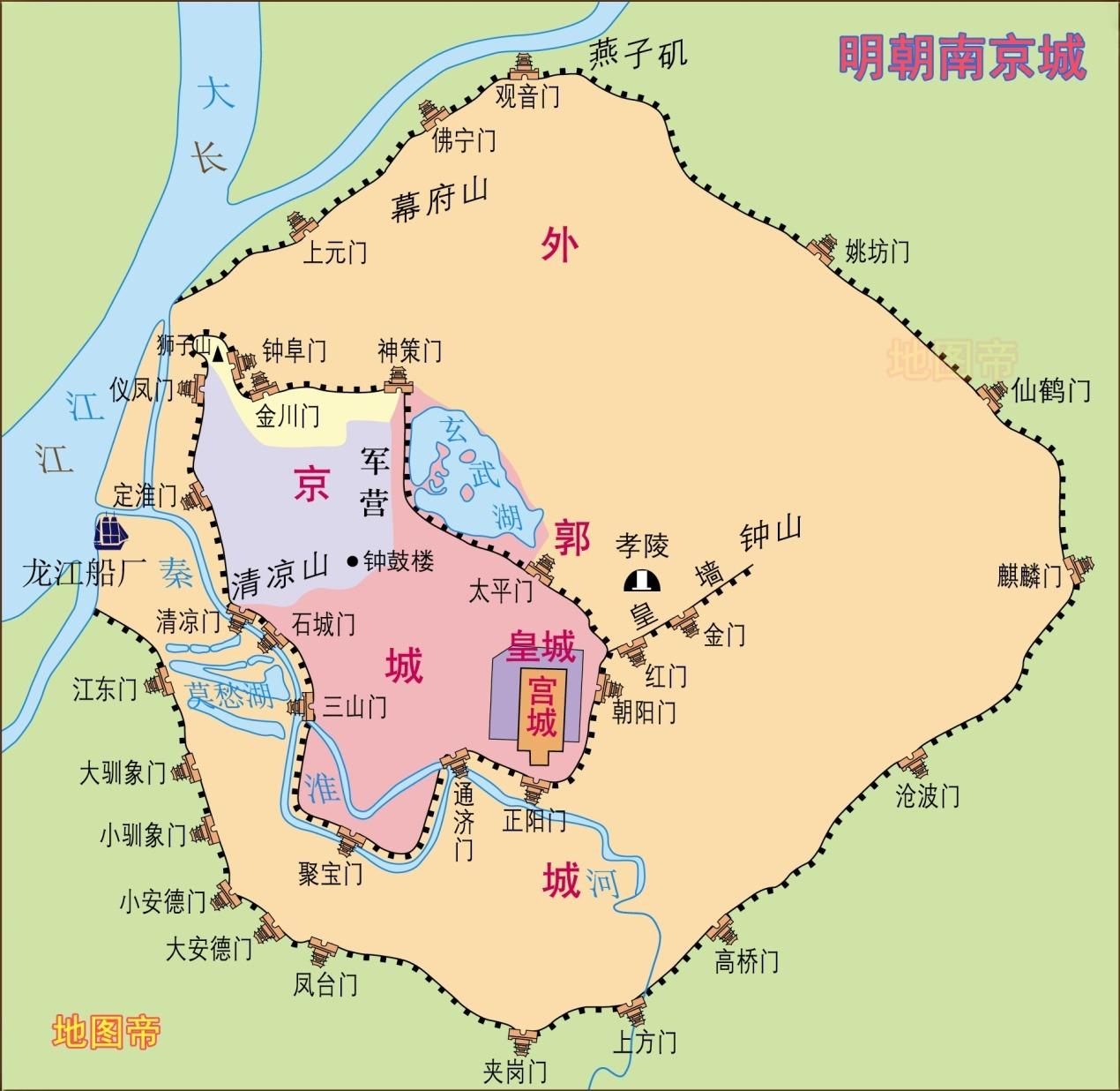 朱元璋为什么定都南京,而不是北京洛阳或者西安?
