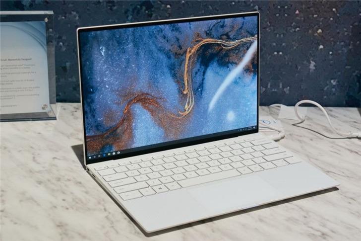 戴尔2020款XPS13笔记本正式发布:全面屏设计颜值大增
