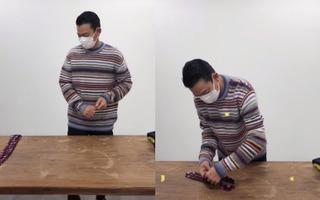 劉德華拍視頻教人打領帶,眼角魚尾紋暴露年紀,身上毛衣值3千塊