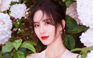 劉詩詩變明艷富貴花,秀肩頸線戴限量首飾,網友:美人與珠寶絕配